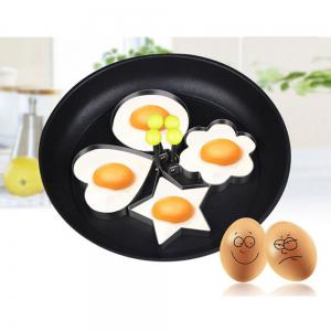 Stainless Steel Fried Egg Shaper Pancake Mould Mold Kitchen Cooking Tools -