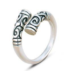 925 Sterling Silver Magic Spell Open Rings for Women Personality -