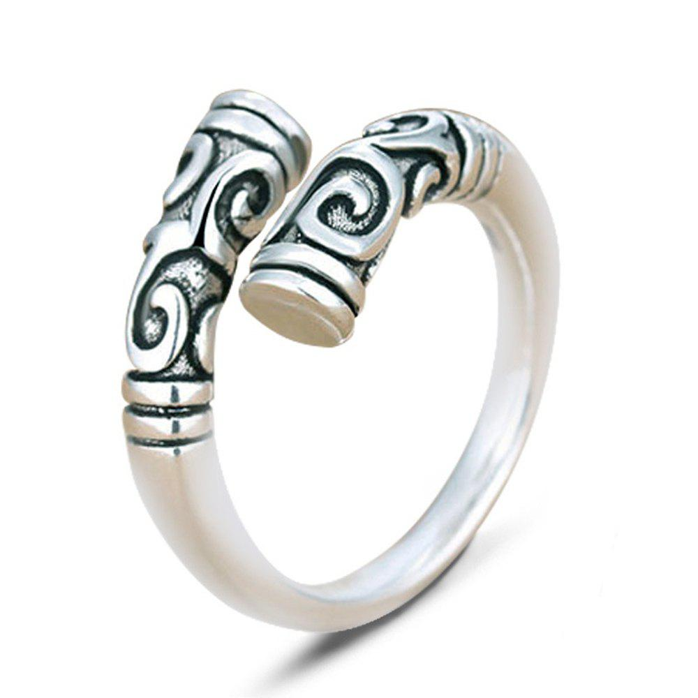 Latest 925 Sterling Silver Magic Spell Open Rings for Women Personality