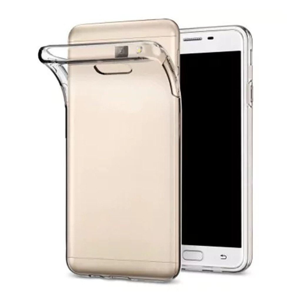 Fashion High Quality Ultrathin Shock-absorption Bumper Tpu Clear Case for Samsung J7 Prime