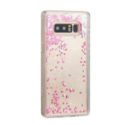 All Small Powder Love Liquid TPU Sand Case for Samsung Galaxy Note 8 -