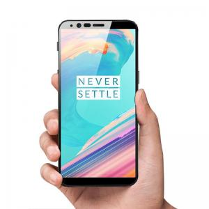 Full Coverage Curved Tempered Glass Screen Protector Film for OnePlus 5T -