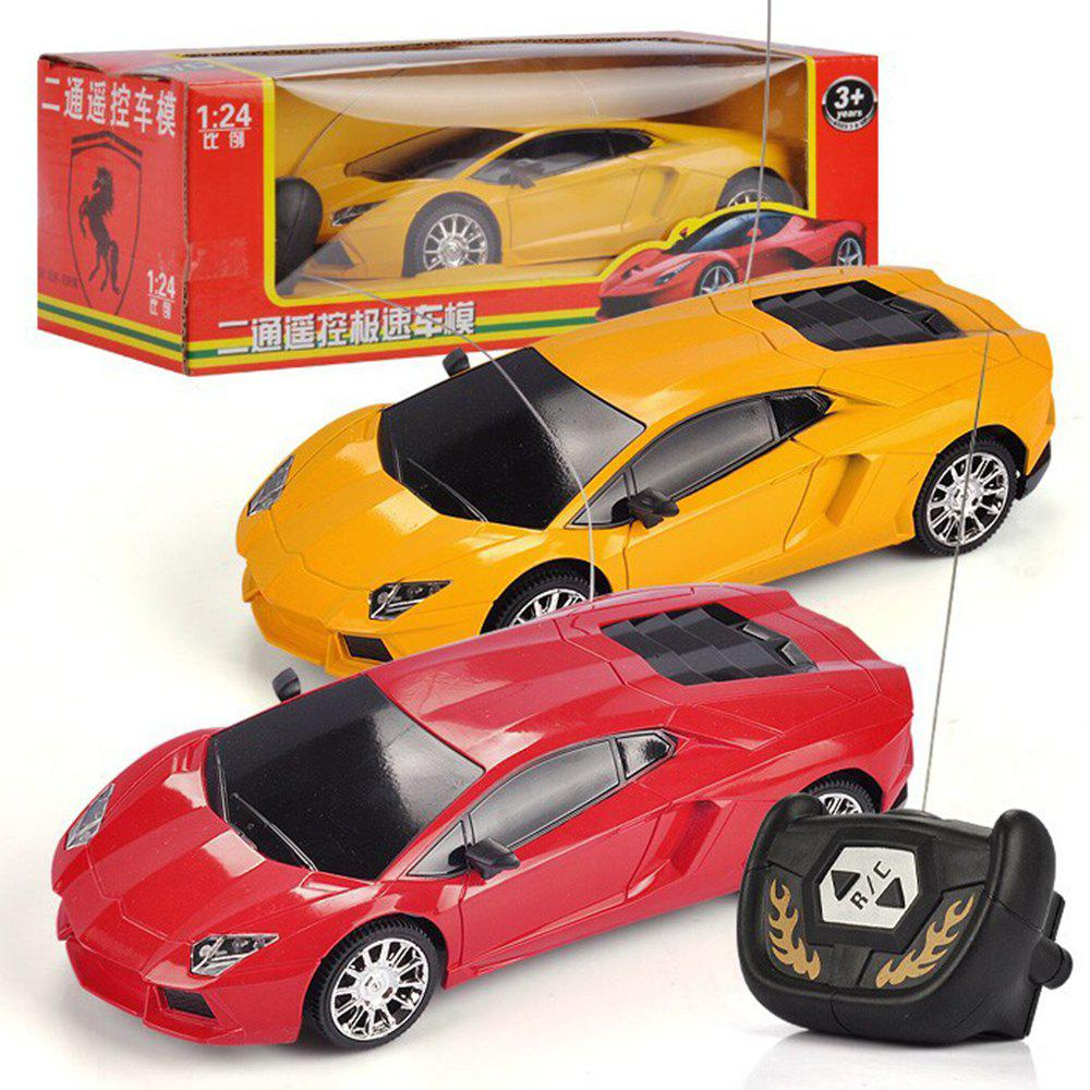 Outfits Manufacturers Selling Two-way Remote Control Car Share not Bag  Children Electric Remote Control Toy Car Model
