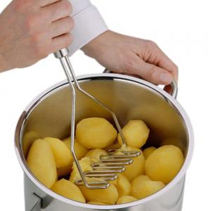Kitchen Gadgets Stainless Steel Potato Pressure Mud Machine Fruit Vegetable Tools Accessories -