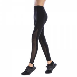Women'S Sport Mesh Splicing Yoga Underpant -