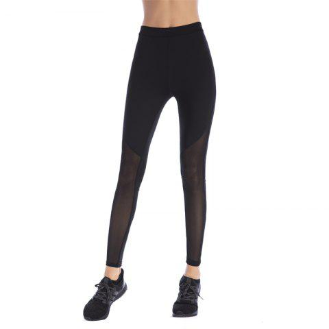 Unique Women'S Sport Mesh Splicing Yoga Underpant