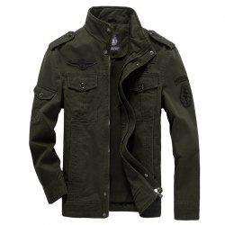 new Men'S Jackets Military Casual Wear Large Size Men'S Clothing -