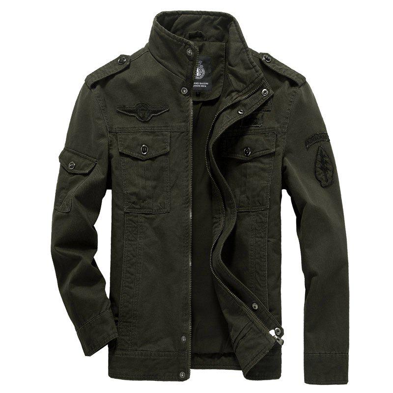 New new Men'S Jackets Military Casual Wear Large Size Men'S Clothing