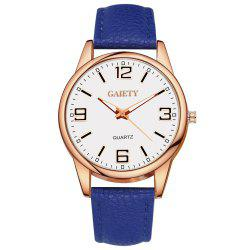 GAIETY G136 Ladies Fashion Leather Watch -