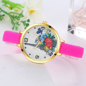 GAIETY G279 Ladies Fashion Silicone Watch -