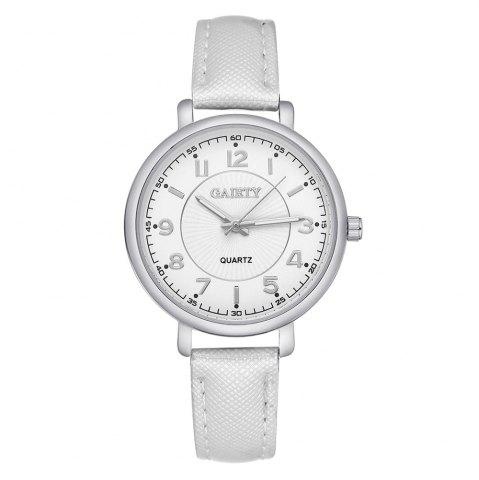 Shops GAIETY G143 Ladies Fashion PU Leather Wrist Watch