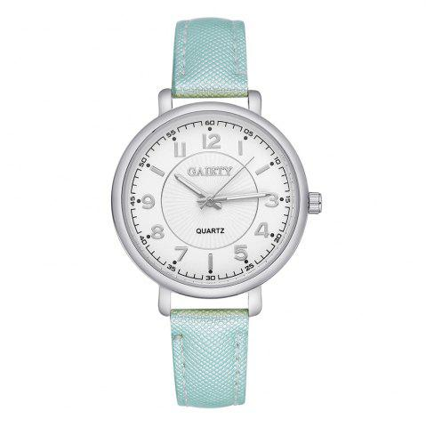 Shop GAIETY G143 Ladies Fashion PU Leather Wrist Watch
