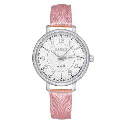 GAIETY G143 Ladies Fashion PU Leather Wrist Watch -