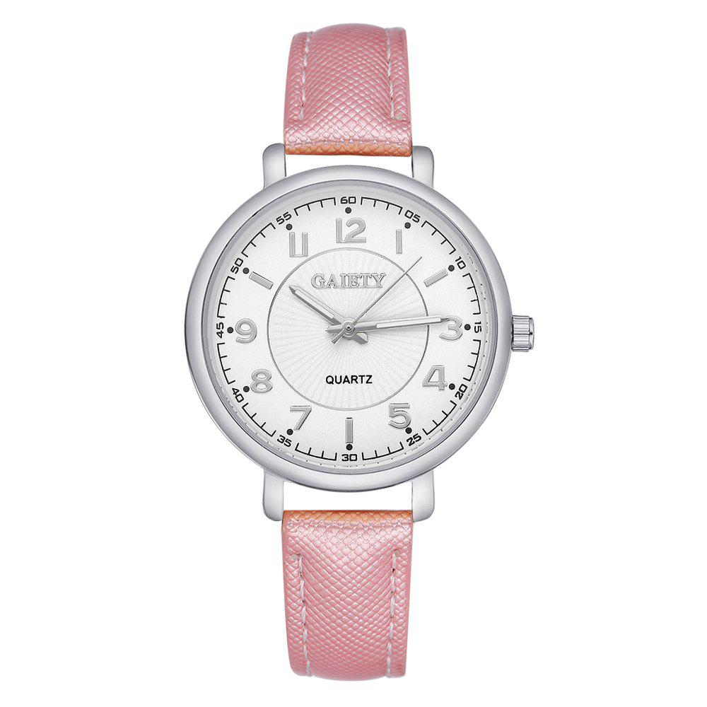 Sale GAIETY G143 Ladies Fashion PU Leather Wrist Watch