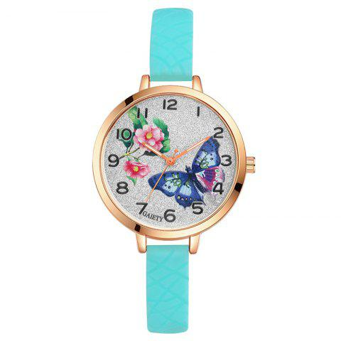 New GAIETY G289 Ladies Fashion Analog Quartz Silicone Sport Watch