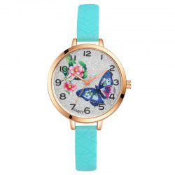 GAIETY G289 Ladies Fashion Analog Quartz Silicone Sport Watch -