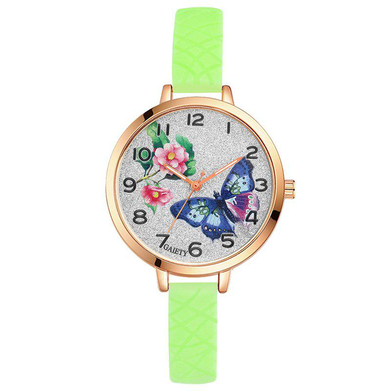 Buy GAIETY G289 Ladies Fashion Analog Quartz Silicone Sport Watch