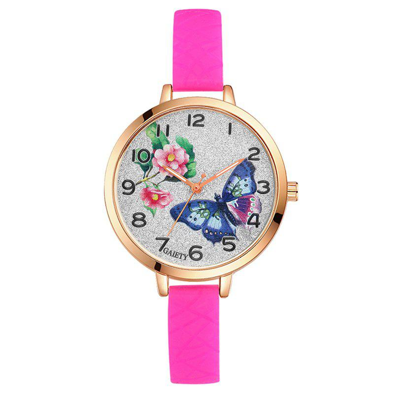 Shops GAIETY G289 Ladies Fashion Analog Quartz Silicone Sport Watch