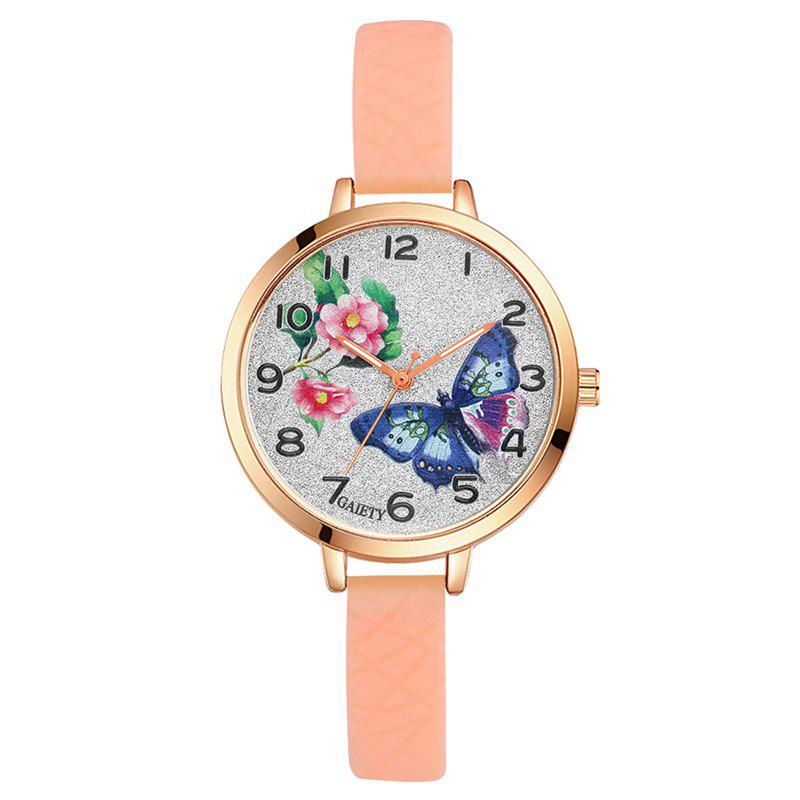Best GAIETY G289 Ladies Fashion Analog Quartz Silicone Sport Watch