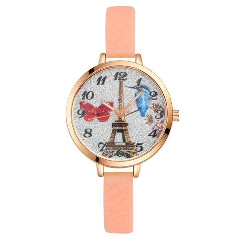 New GAIETY G292 Women Tower Jelly Color Silicone Sports Wrist Watch