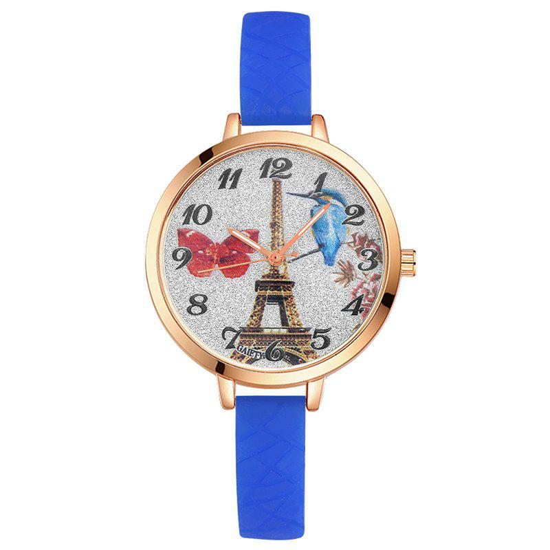 Store GAIETY G292 Women Tower Jelly Color Silicone Sports Wrist Watch