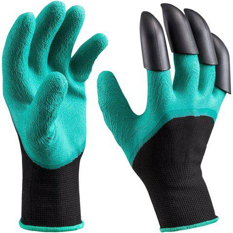 Best Garden Genie Gloves With Claws Quick and Easy to Dig and Plant, Safe for Gardening Digging and Planting