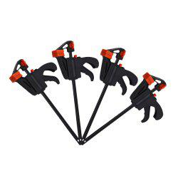 4 Inch F Clamps Quick Ratchet Release Speed Squeeze Wood Working Clamps -