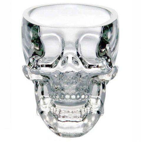 Crystal Skull Head Shot Glass Cup Vodka Whiskey Gin Bar Home Party