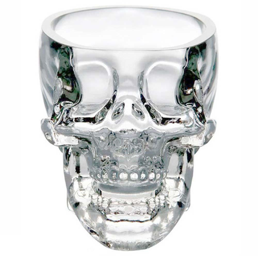 Crystal Skull Head Shot Glass Cup Vodka Whiskey Gin Bar Home Party 246168601