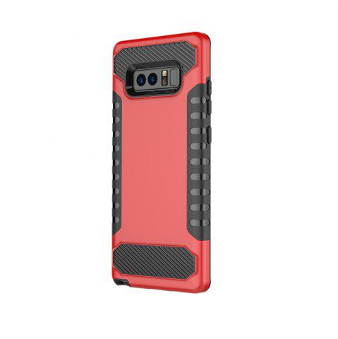 Online For Galaxy Note8 Mobile Phone Shell Tank Carbon Fiber Technology Protection Sleeve