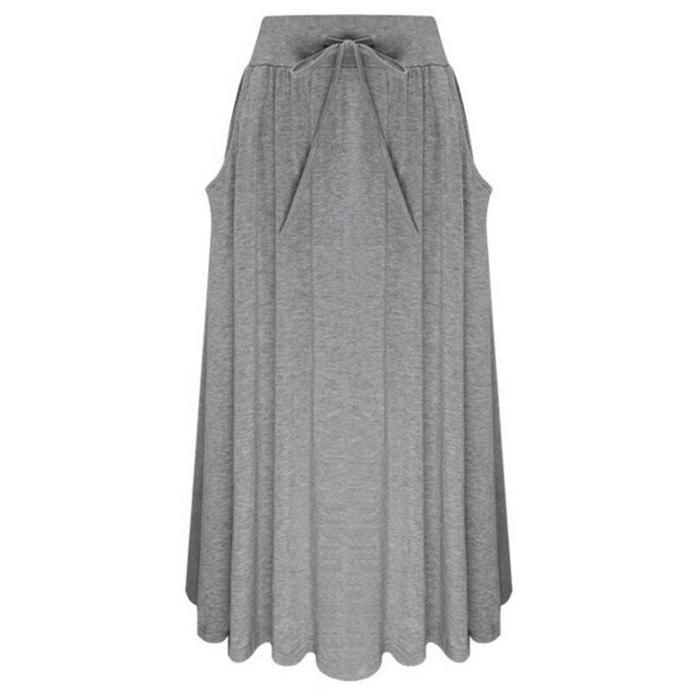 Unique Bow Knot Comfortable Cotton Skirt