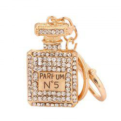 Perfume Bottle Shape Keychain Fashion Bag Pendant -