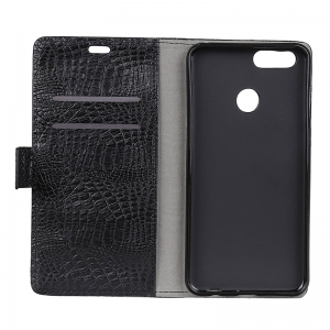 Retro Crocodile Pattern Business Leather Case for One Plus 5T -