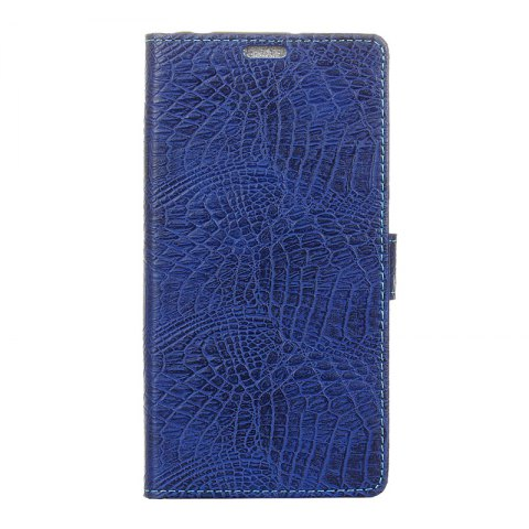 Outfits Retro Crocodile Pattern Business Leather Case for One Plus 5T