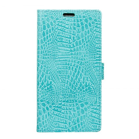 New Retro Crocodile Pattern Business Leather Case for One Plus 5T