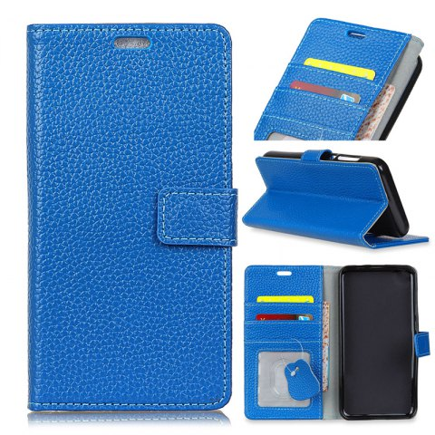 Chic Solid Color Business Leather Holster for One Plus 5T