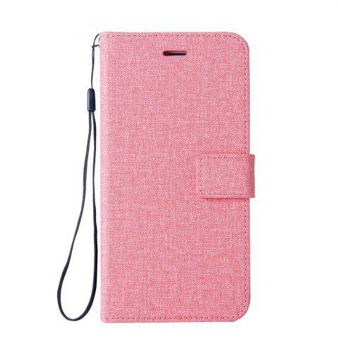 Discount Wkae Solid Color Premium Jeans Cloth Texture Leather Pouch Case for Huawei Hornor 9