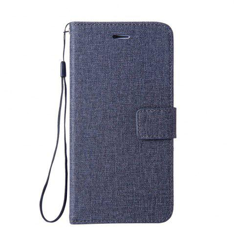 Best Wkae Solid Color Premium Jeans Cloth Texture Leather Pouch Case for Huawei Hornor 9
