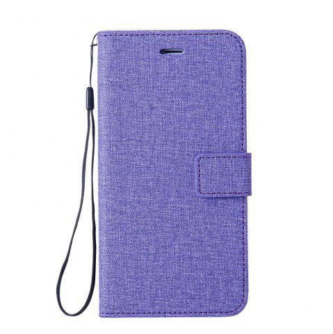 Buy Wkae Solid Color Premium Jeans Cloth Texture Leather Pouch Case for Huawei Mate 10
