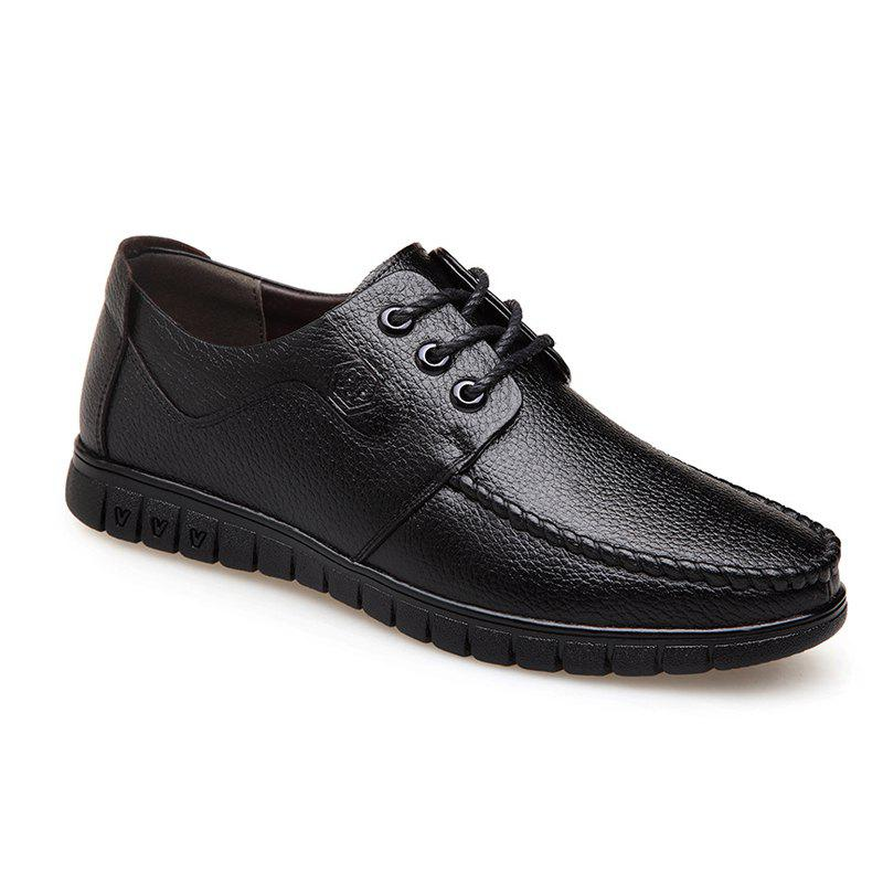 Shop Leather Soft Middle-Aged Shoes