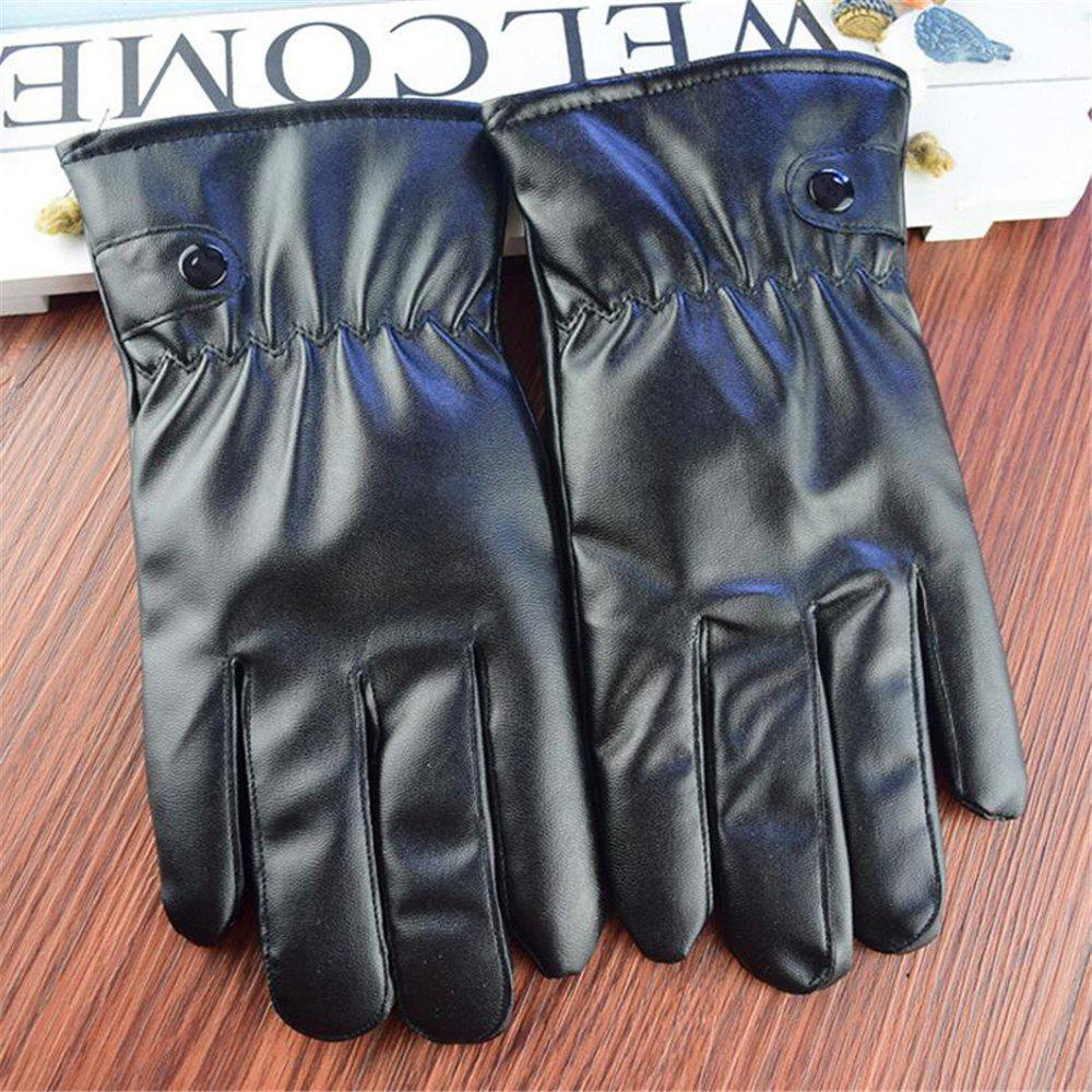 Latest PU Leather Gloves Women Winter Mittens Warm Gloves For Woman Winter Glove