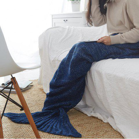 Discount New Children Adult Contracted Mermaid Tail Blanket