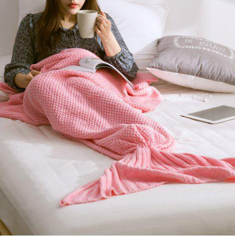 New New Children Adult Contracted Mermaid Tail Blanket