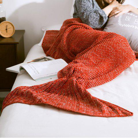 Latest New Children Adult Contracted Mermaid Tail Blanket