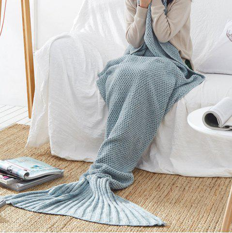 Best New Children Adult Contracted Mermaid Tail Blanket