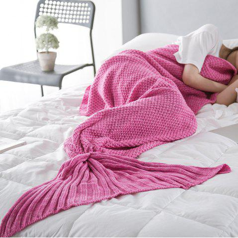 Affordable New Children Adult Contracted Mermaid Tail Blanket
