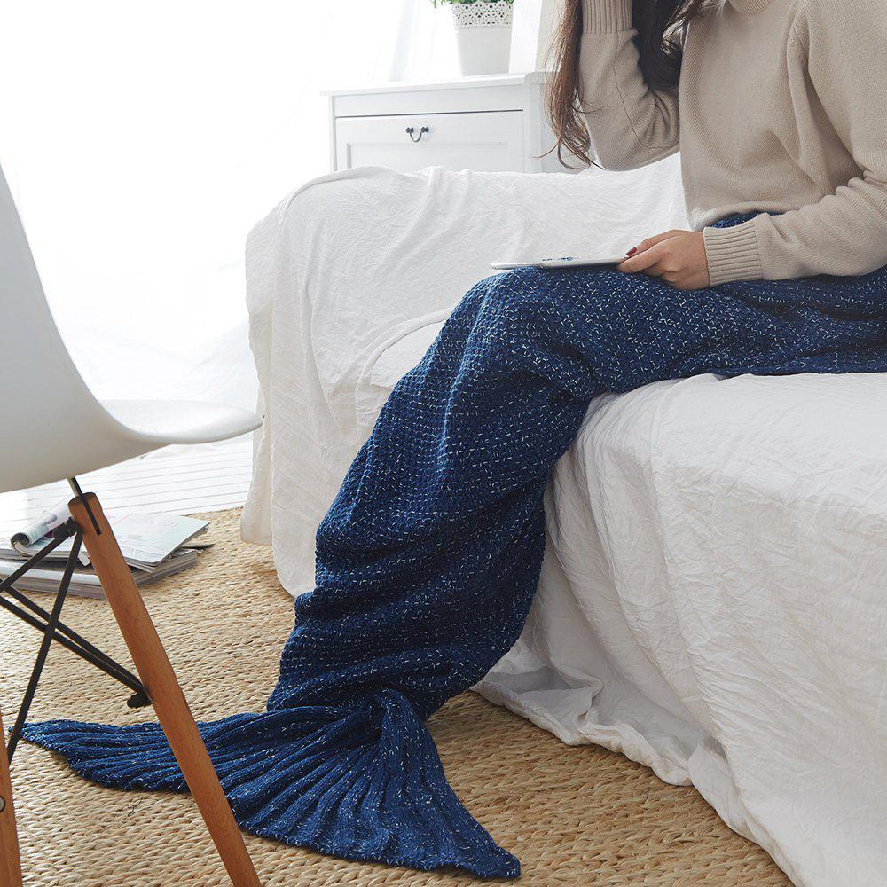 Hot New Children Adult Contracted Mermaid Tail Blanket