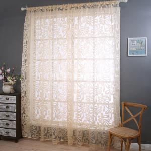 Hot Money Flower Curtain Cut Fingers -