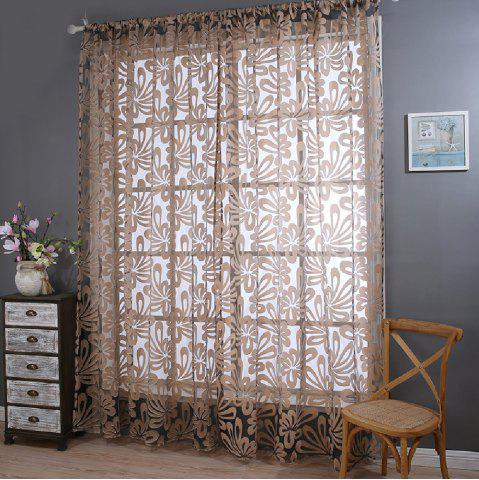 Latest Hot Money Flower Curtain Cut Fingers