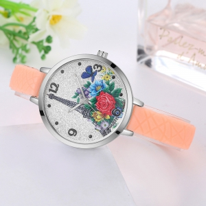 GAIETY G281 Ladies Fashion Quartz Silicone Watch -